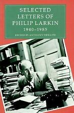 Selected Letters of Philip Larkin 1940-1985-ExLibrary