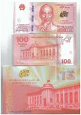 Vietnam 100 Dong Commemorative Banknote with Folder UNC 2016