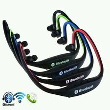 Sports Wireless Headset MP3 Player MicroSD Bluetooth Headphone Earphone neckband
