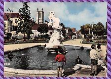 """cartolina TROYES, Jardins della prefecture """"le Rapimento"""""""