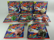 THE COMPLETE SERIES OF 8 BLURP BALLS - NEW SEALED IN ITALIAN BLISTER - MAD WACKI