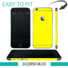 IPhone 6 piel Amarillo-Apple Piel Vinyl-Iphone 6 Pegatina/iPhone 6 Calcomanías