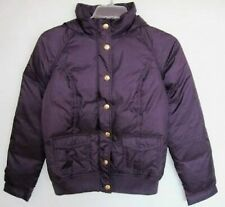 Juicy Couture Womens Purple Down Hooded Bomber Puffy Jacket #JGS00714 (L) NWT