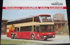 NEOPLAN ALLENATORE opuscolo 1983 include jumbo-liner