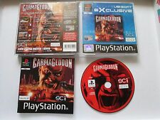 Carmageddon For Sony Playstation 1 / PS1 Complete PAL - Survival Crash Course