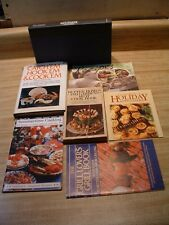 Lot of 7 Cookbooks ~ Tailgating, Fishing, Grilling, Meats, Appetizers, Cheeses