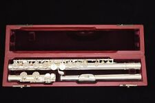SANKYO HANDMADE CF601 FLUTE SOLDERED TONE HOLES OFFSET-G CLOSED HOLES C-FOOT