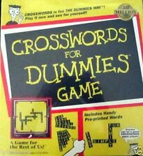 Crosswords for Dummies Board Game Brand New free shipping with buy it now price