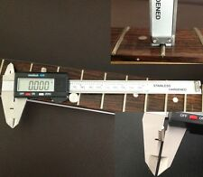 Luthiers Digital Caliper - For Guitar Making, Repair, Refretting