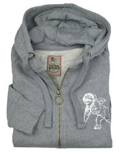 PRPS GOODS & CO JEANS Sweatshirt-Jacke in L grau mit LOGO
