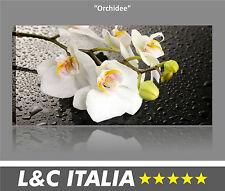 Orchidee QUADRO MODERNO STAMPA TELA PAESAGGI ASTRATTI ARTE ZEN FIORI CASA ARREDO