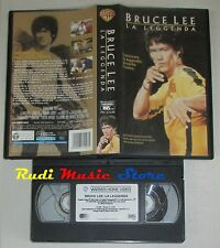 film VHS documentario  BRUCE LEE  LA LEGGENDA  Bruce Lee 2001  (F19)  no dvd