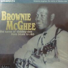 Brownie McGhee(CD Album)The Same Ol' Diddley-Dee-Zircon/Diamond-New & Sealed