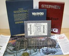 STEPHEN KING THE SHINING + PROLOGUE LIMITED EDITION SIGNED NEW UNREAD COLLECTION