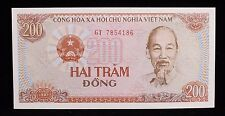 1987 Vietnam 200 Dong Banknote P100 GT 7854186