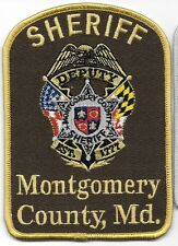 MONTGOMERY COUNTY CO MD mc so sd DEPUTY SHERIFF CROSS FLAGS FLAGES