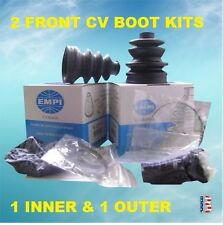 2 ATV CV Boot Kit FIT 2000-2006 HONDA TRX 350 RANCHER 4X4 FRONT INNER & OUTER