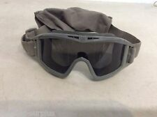 REVISION DESERT LOCUST SAND WIND DUST GOGGLES ACU FOLIAGE GREEN TINTED LENS ONLY