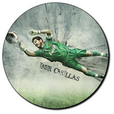 Parche imprimido, Iron on patch, /Textil sticker, Pegatina/- Iker Casillas