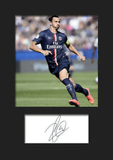 Zlatan Imbrahimovic - PSG Signed Photo A5 Mounted Print - FREE DELIVERY
