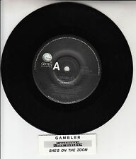 "MADONNA Gambler &  DON HENLEY She's On The Zoom  7"" 45 record + juke box strip"