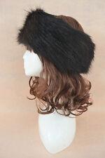 Best Come Women's Russian Style Faux Fur Headband Earwarmer Earmuffs Hat Cap Ski