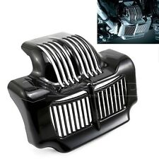 Black Stock Oil Cooler Cover For 11-15 Harley Touring Electra Road Street Glide