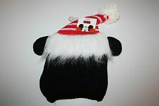 Disney Mickey Mouse Christmas Childrens Knit Fleece Winter Cap with Santa Hat