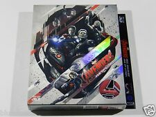 The Avengers Age of Ultron (3D+2D) Blu-ray Steelbook [Korea] Novamedia FS #289