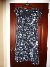 Steilmann navy spotty dress - 16