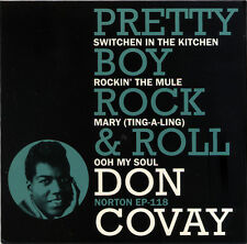 "DON COVAY (PRETTY BOY ROCK & ROLL)  ""SWITCHEN IN THE KITCHEN""  4 TRACK EP"