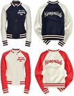 AEROPOSTALE womens Athletics Varsity Letterman Jacket Coat S,M,L,XL,2XL NEW NWT