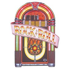 Anni 1950 JUKE BOX Ritaglio 3ft-Rock and Roll Music Party Decorazioni