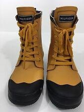 TOMMY HILFIGER WOMEN'S RENEGADE RAIN BOOTS, YELLOW, 8M
