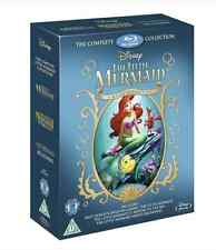 The Little Mermaid Trilogy Boxset 1 2 & 3 (Blu-ray)