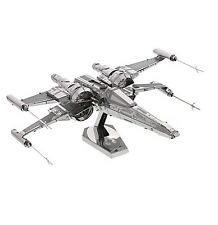 Disney Store Star Wars Force Awakens 3D Model Kit X-Wing Fighter Metal Figure
