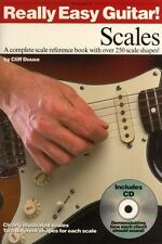 Really Easy Guitar Scales Learn to Play Beginner Lesson Music Book & CD
