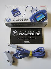 Gameboy Advance Link câble en OVP CIB Box-ORIGINAL NINTENDO GAMECUBE