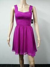 NEW - Guess - Size 10 - Sleeveless Seamed Cocktail Fuschia Dress - Purple $138