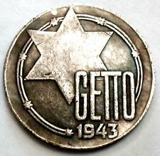 PIÈCE DE MONNAIE ALLEMAND    20 MARK 1943    GERMAN COIN    LITZMANNSTADT