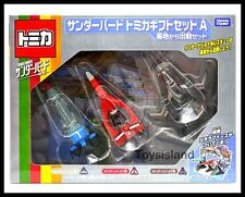 TOMICA THUNDERBIRDS SET A of 3 TB1 TB3 TB-S TOMY DIECAST CAR NEW