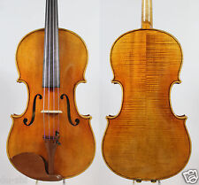 "Best performance! A Strad model Viola 16"" #2027 Deep warm tone!Aubert bridge"