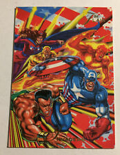 1994 Flair Marvel Invaders #36