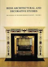 """IRISH ARCHITECTURAL & DECORATIVE STUDIES"" VOLUME 1. PAPERBACK GOOD CONDITION"