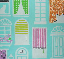 DESIGNERS GUILD Dolls House Around the World Orange Blue Remnant New
