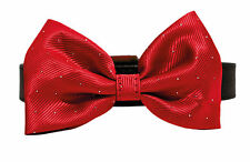 Rosewood Christmas Xmas Bow Tie Dog Collar 12-16""