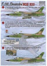 Print Scale Decals 1/32 REPUBLIC F-105D THUNDERCHIEF MiG Killer