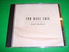 JANET JACKSON - You Want This US 1993 Virgin promo CD