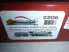 HO ENGINE BROADWAY LIMITED- UNION PACIFIC 4-8-2 DC,DCC, SOUND, SMOKE