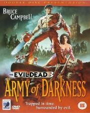 Army Of Darkness The Evil Dead 3 DVD Bruce New and Sealed Original UK Release R2